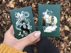 Gold Foil Illustrated Boxes by Maggie Enterrios Book Cover Design, Book Design, Foil Packaging, Foil Business Cards, Foil Art, Gold Foil Print, Packaging Design Inspiration, Business Card Design, Branding Design