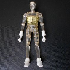 Micronauts Clear Time Traveler Action Figure Window Pane Gold Chestplate Mego Toys Robot 1978 Pet Sematary, Felt Tree, Childhood Toys, Time Travel, Barbie Dolls, Robot, Action Figures, I Shop, Window