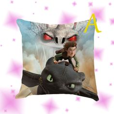 How To Train Your Dragon Pillow Cover Case by Globbie on Etsy
