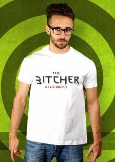 The Bitcher - Wild OMGunt T-Shirt von Kater Likoli, Mannheim, Deutschland   Design by Lukas Likoli $19.95