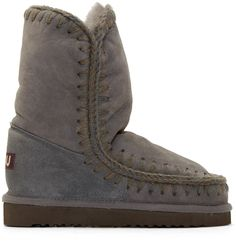 Anything but Uggs lol Mou Grey Shearling Eskimo 24 Boots