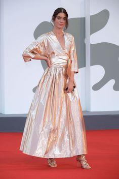 Formal Wear, Formal Dresses, Film Festival, Venice, Red Carpet, Dresses With Sleeves, Long Sleeve, Fashion, Dress