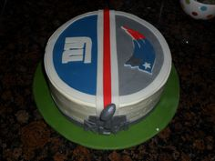 Superbowl Cake-Discerning Magpie Cakes, February 2012  https://www.facebook.com/thediscerningmagpie