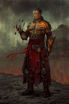 HAD to pin this from Magic: The Gathering by @Jason Stocks-Young Stocks-Young Stocks-Young Stocks-Young Chan: lava man?: