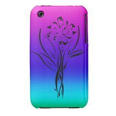 Rainbow Flower iPhone 3 Covers