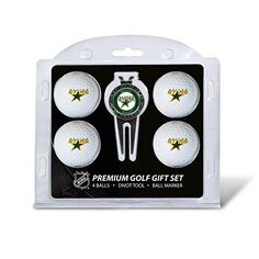 NHL Dallas Stars Four Golf Ball Gift Set * See this great product.