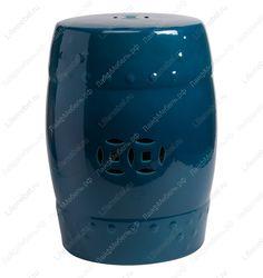 Столик-табурет Garden Stool dark blue