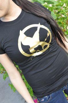 Hunger Games Mockingjay BIG Logo T-shirt sizes: Womens Small to XL