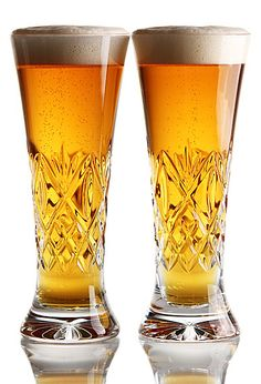 Crystal Beer glasses