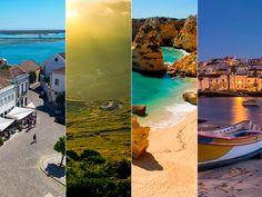 La esencia del Algarve en 10 imprescindibles | Via HolaViajes | 10/01/2017 A menos de una hora de Madrid en avión en temporada alta, a hora y media de Huelva y a poco más de dos de Sevilla en coche, la región portuguesa del Algarve combina en una franja costera de poco más de 150 kiómetros playas espectaculares, pueblos y ciudades con un rico patrimonio histórico, paisajes serranos, resorts exclusivos y, sobre todo, un entorno natural privilegiado para disfrutar con calma. #Portugaln