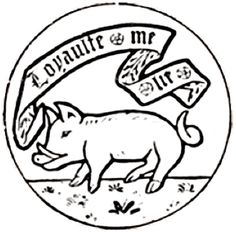 The 'S Saxon Barton's Boar emblem