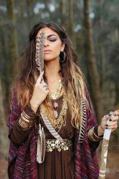 ☮ American Hippie Bohéme Boho Style ☮ Wild Free Spirit