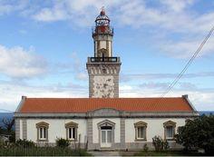 Faro de Fuenterrabia in Hondarribia, Spain. As seen on MapMuse's Lighthouse Locator app.