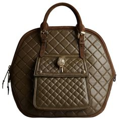 The Burberry Orchard in Quilted Nappa Leather ($2,995) ❤ liked on Polyvore