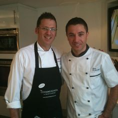 Gino d'a Campo at The Cooking School  Dean Clough Halifax