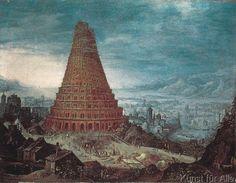 Lucas van Valckenborch - Der Turmbau zu Babel