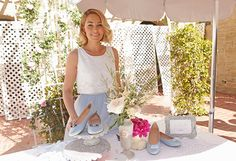 My Cinderella DIY Blogger Luncheon included a design your own flats bar!