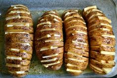 Team Traeger | Man Sides: Cheesy Accordion Potatoes
