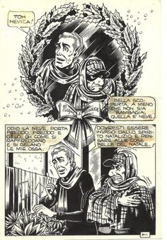Original Comic Art titled Alan Ford - L'albero di Natale, located in Bruno's Magnus - Alan Ford Alan Ford, Bob Rock, Yorkie, Comic Art, Creatures, Cartoon, Bunker, Comics, Drawings