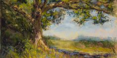 Jak namalować drzewo suchymi pastelami – Monika Wiśniewska Amaviael