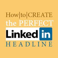 LinkedIn Headline: How To Write The Perfect #LinkedIn Profile Headline training with #LinkedInTraining.MarkiLemons.com #linkedin