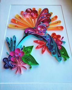 Unknown artist quilling about flowers and animals searched by châu khang – Artofit Neli Quilling, Paper Quilling Cards, Paper Quilling Tutorial, Paper Quilling Flowers, Paper Quilling Patterns, Origami And Quilling, Quilling Craft, Quilling Ideas, Quiling Paper Art