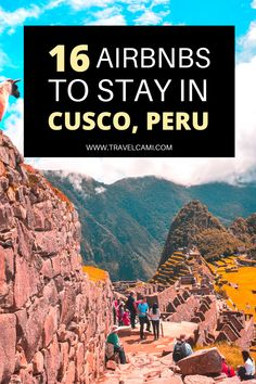 Travel Peru | Airbnbs in Cusco | Travel South America | Places to stay in Cusco tips | Machu Picchu | Peru Travel Tips Travel Route, Peru Travel, Travel Guides, Travel Tips, Travel Destinations, Galapagos Islands, South America Travel, Machu Picchu, Best Places To Travel