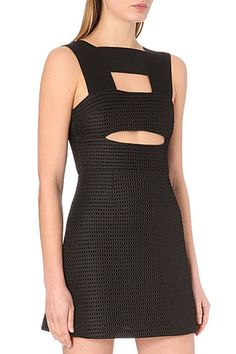 $257.00 My Self Graphic A-line Dress