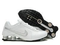 promo code 0be61 9ebc7 chaussures nike shox r4 homme (blanc argent) pas cher en ligne.