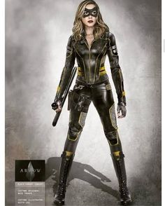 Laurel Lance Black Canary Laurel's new Black Canary Costume (Arrow Season can find Black canary and more on our website. Arrow Black Canary, White Canary, Superhero Suits, Superhero Design, Superhero Movies, Super Hero Outfits, Super Hero Costumes, Elin Kling, Solgaleo Pokemon