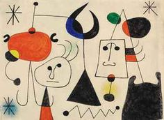 Art History News: Joan Miró at Auction Joan Miro Paintings, Abstract City, Ecole Art, Pin Art, Elementary Art, Oeuvre D'art, Art Lessons, Les Oeuvres, Spanish Painters