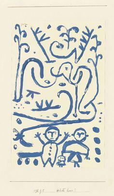 Paul Klee (1879-1940) | Hände hoch! | XX secolo, Disegni e acquerelli | Christie