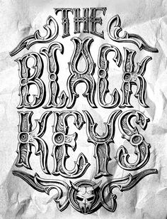 Black Keys by Diego Jimenez