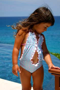 I love Ruffles, will be getting this in the Hawaiian print for Avery to wear in Muai!