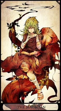 Eto The Magician. Tokyo ghoul