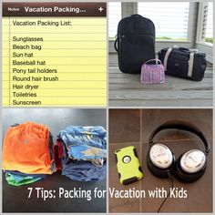 If you have a vacation coming up  need some helpful ideas to make packing easier, this is your list! {7 Tips: Packing for Vacation with Kids}