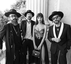 """8,078 mentions J'aime, 40 commentaires - THE KOOPLES (@thekooplesofficial) sur Instagram: """"@emrata & Elicha brothers at the #EmilybyTheKooples launch event at Hotel de Crillon. Go behind the…"""""""