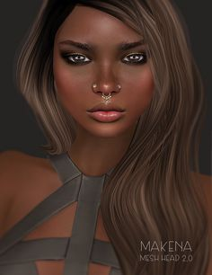 Makena Mesh Head @Tres Chik | by Freezea Fluture