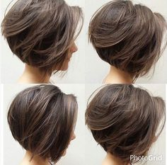 Pin on All about bob Pin on All about bob Haircuts For Fine Hair, Short Bob Hairstyles, Hairstyles Videos, Formal Hairstyles, Short Hair With Layers, Short Hair Cuts For Women, Shot Hair Styles, Long Hair Styles, Hair Day