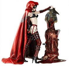 McFarlane Toys Monsters: Twisted Fairy Tales Action Figure Red Riding Hood by McFarlane Toys, http://www.amazon.com/dp/B0009PY6HO/ref=cm_sw_r_pi_dp_-mlNqb165S0W1