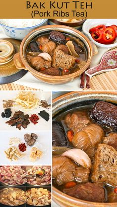 Bak Kut Teh (Pork Ribs Tea) is a Chinese herbal soup with dong gui known for its warming properties. This comforting dish is perfect for the colder months or rainy days. | Food to gladden the heart at RotiNRice.com