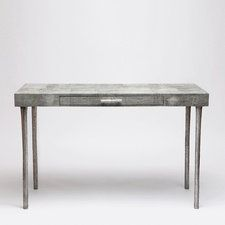 Doubling as a desk and console table, this faux shagreen piece would be the perfect addition to almost any space in the home.