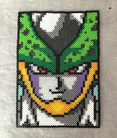 Perfect Cell - Dragon Ball perler beads by momofheathens