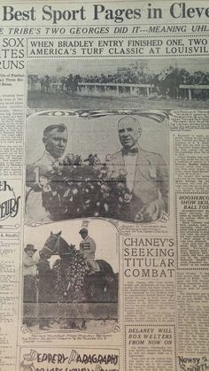 MAY 10, 1921 NEWSPAPER #J5411- BEHAVE YOURSELF, KENTUCKY DERBY + THURSTON MAGIC