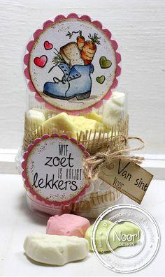6410/0083 Noor! Design Clear Stamp Sinterklaas Door Jenine Siemerink