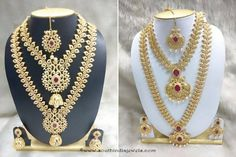 Grand South Indian Bridal Jewellery Set from SIIMa Jewels