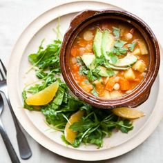 White Bean Chili with Winter Vegetables  Recipe