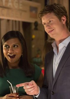 DERS on the Mindy Project makes me so happy! Like 3/4 of the reason I watch the show. Love Anders Holm!