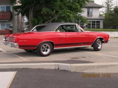 1967 General Motors of Canada - Beaumont SD396 (The Canada only version of the Chevelle SS396). This factory 4 speed 396/350hp Beaumont looks fantastic in Bolero Red with period Keystone wheels.