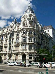 Calle Ferraz.Madrid.